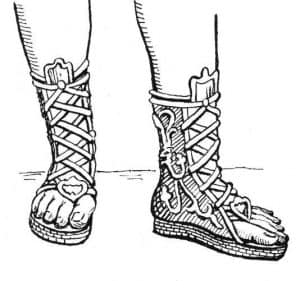 shoes of the armor of God