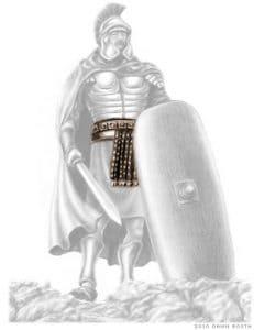 Belt of truth armor of God