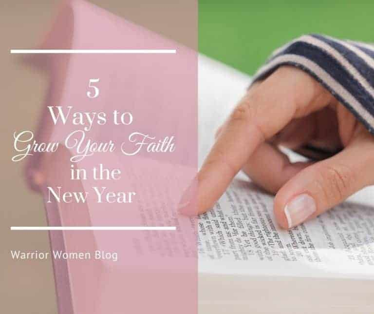 5 Easy Ways to Grow Your Faith in the New Year