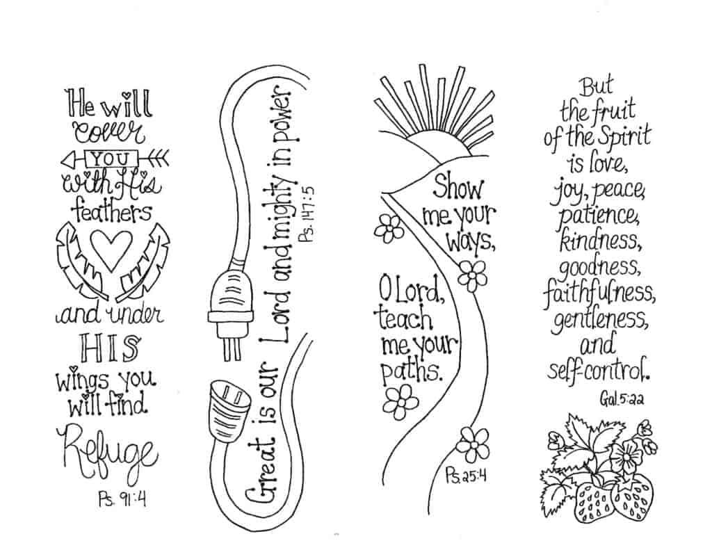 Bible journal template