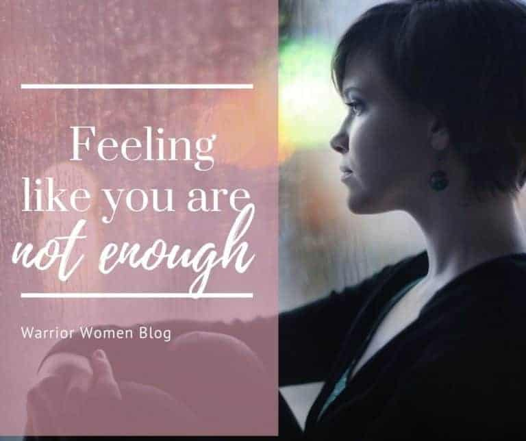 Feeling like you are not enough?
